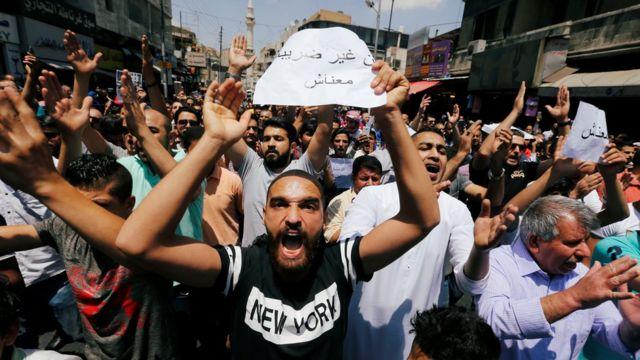 احتجاجات الأردن