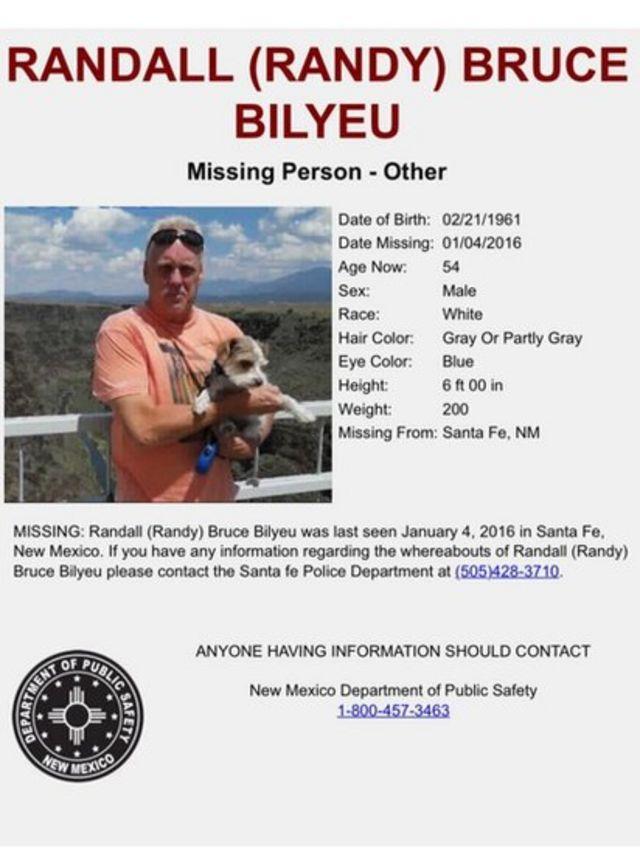 Carten de búsqueda para Randy Bilyeu