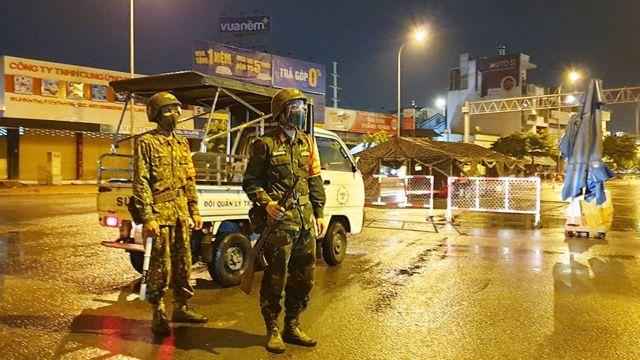 Quân đội cũng được huy động chống dịch