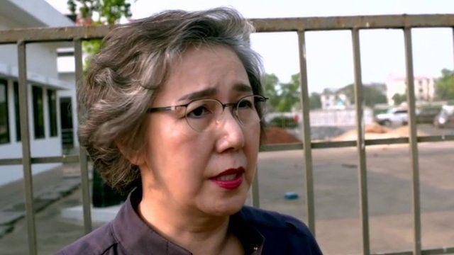 UN special rapporteur for human rights in Myanmar, Yanghee Lee