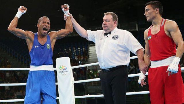 Conceição garantiu ao menos um bronze para o Brasil no boxe