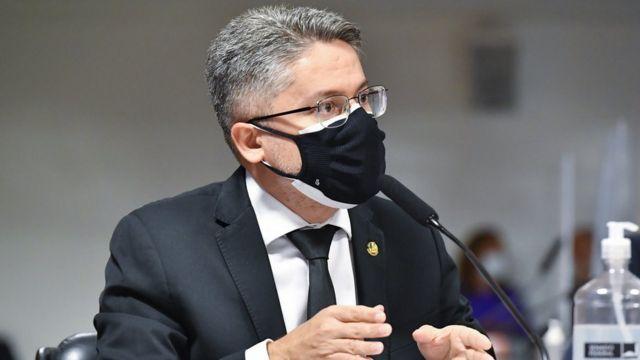 Senador Alessandro Vieira no Senado