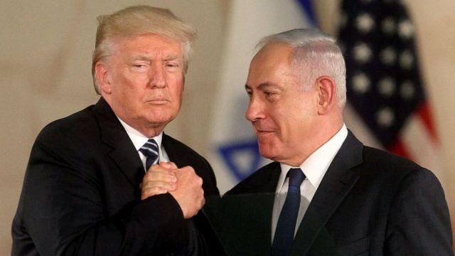 Дональд Трамп и Нетаньяху
