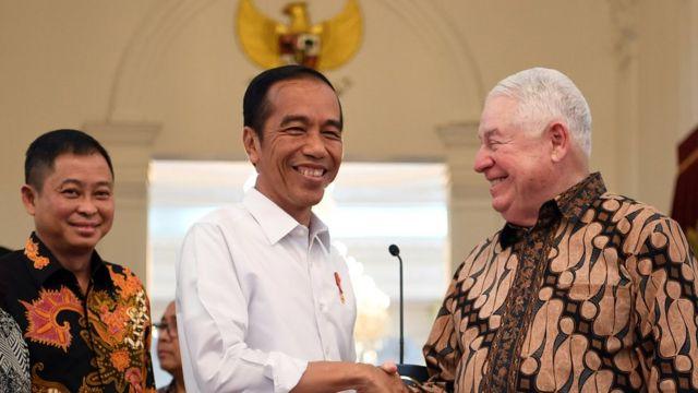 Jokowi-Adkerson