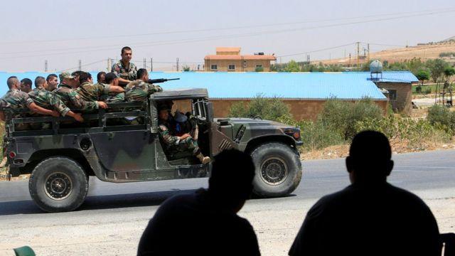 أرشيف- دورية للجيش اللبناني شمال البلاد