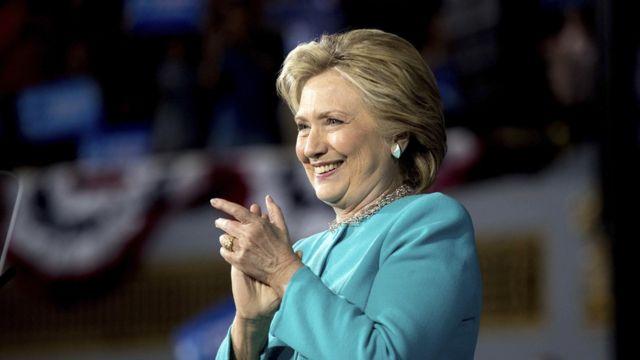 لمرشحة الديمقراطية للرئاسة الأمريكية هيلاري كلينتون