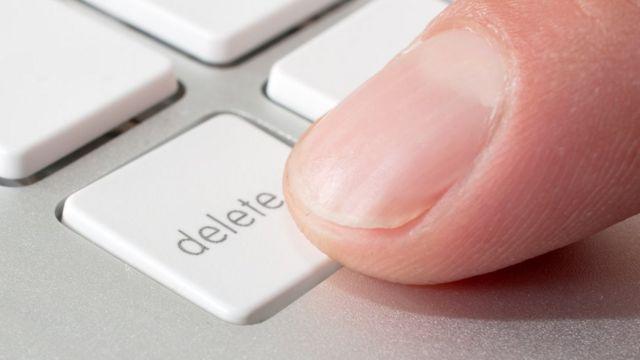 """Tecla """"delete"""""""