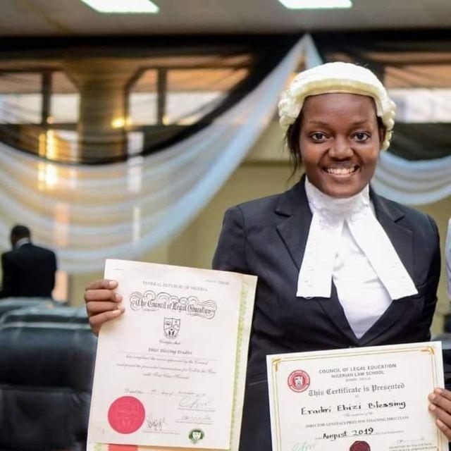 Ebizi Blessing Eradiri [face of Bayelsa girl child]: