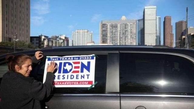 Mfuasi wa Biden Texas