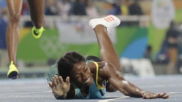 Шона Миллер, багамская бегунья