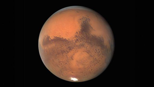 Foto de Marte tomada por Damian Peach el 30 de septiembre.
