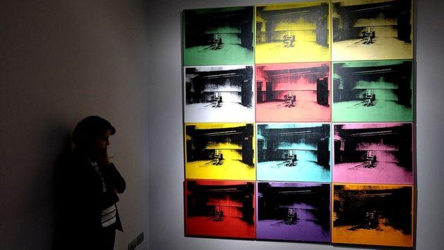 """La clásica serie """"Death and Disaster"""" de Warhol."""