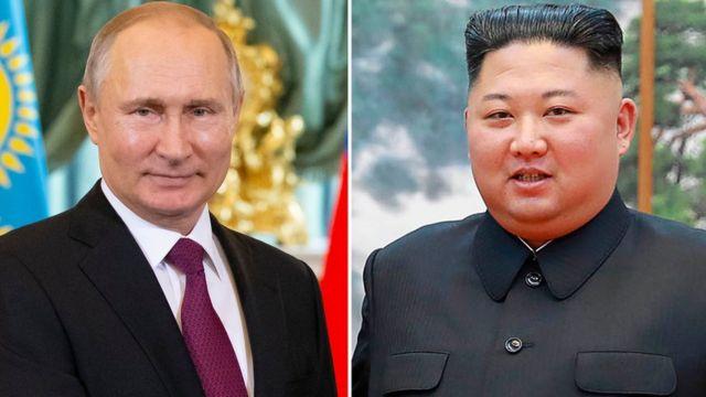 Putin na Kim