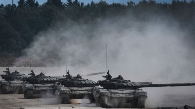 Российские танки Т-90