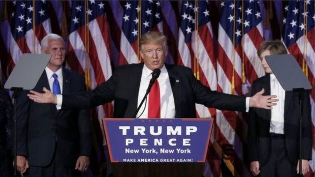 أصبح دونالد ترامب الرئيس رقم 45 للولايات المتحدة