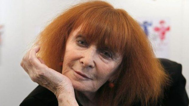 French fashion designer Sonia Rykiel
