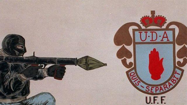 Mural of the UDA Brigade