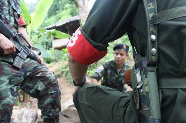 ကေအန်ယူတပ်မဟာ ၅ တပ်ဖွဲ့ဝင်တွေ