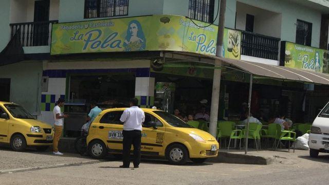 """Panadería """"La Pola"""", en Guaduas."""