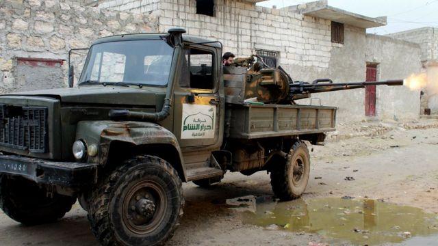 Ahrar'uş Şam, Suriye'deki en güçlü İslamcı örgütlerden biri olarak tanımlanıyor.