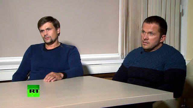 Ruslan Boshirov e Alexander Petrov