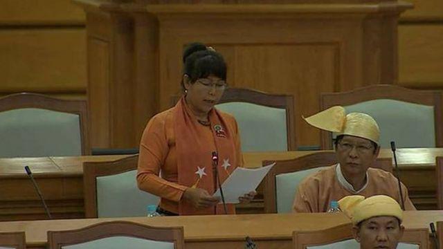 ဒေါ်သန္တာ(ပြည်သူ့လွှတ်တော်ကိုယ်စားလှယ်၊ အန်အယ်လ်ဒီဗဟိုအမျိုးသမီးကော်မတီဝင်)