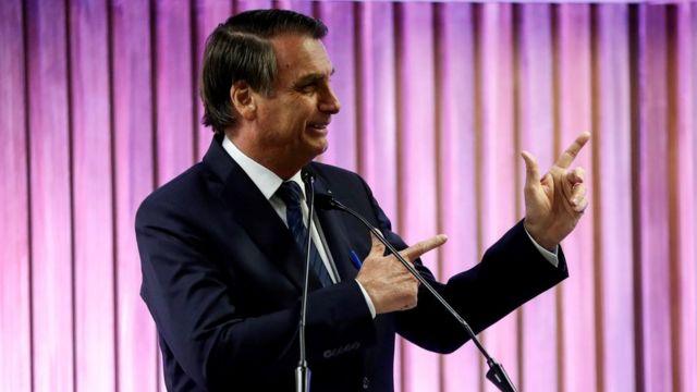 Bolsonaro em evento no Rio