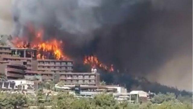 Пожежі в Туреччині, Греції, Італії впливають на погоду в Україні, - Гідрометцентр