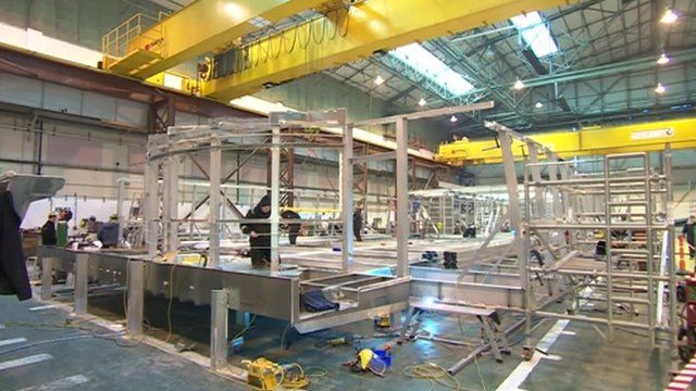 Red Jet being built on the Isle of Wight