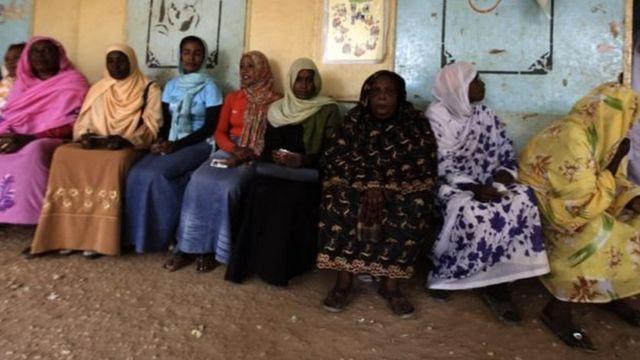 Женщины Судана
