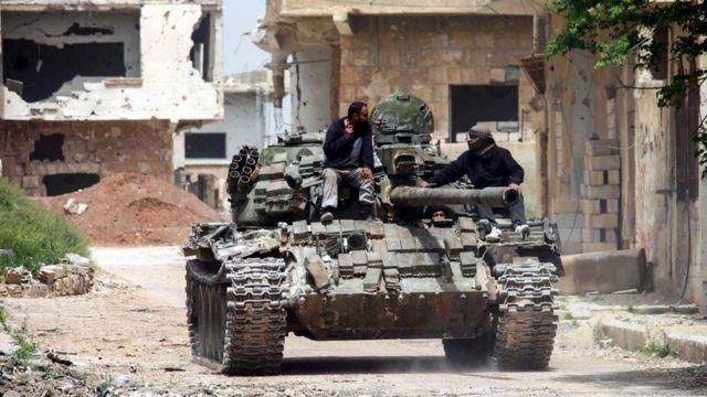 Гражданская война в Сирии поставила страну на грань полного коллапса