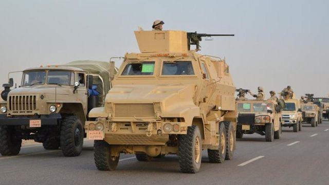 قوات من الجيش المصري
