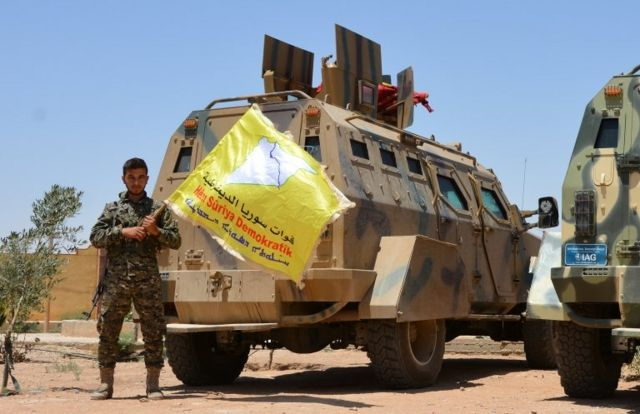 قوات سوريا الدميقراطية