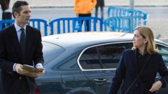 الأميرة كريستينا وزوجها إناكي إنداغارين