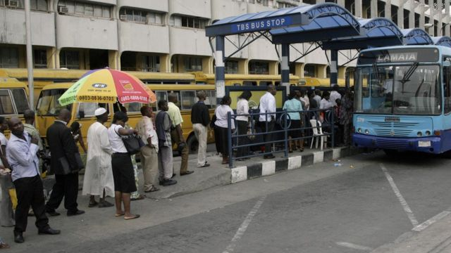 Pipo wey stand for bus queue.