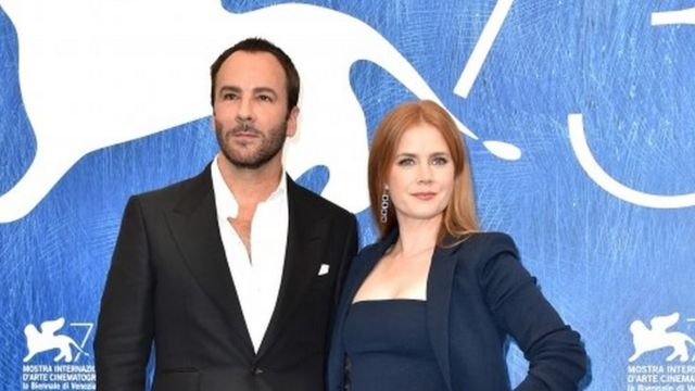 Tom Ford and his leading lady Amy Adams
