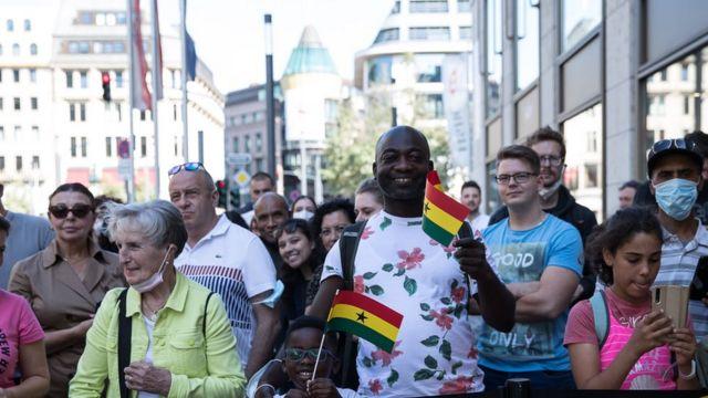 Beziehungen zwischen Ghana und Deutschland: Erklärung der deutschen Beziehungen von Aguofo-Ado Ghana und Angela Merkel