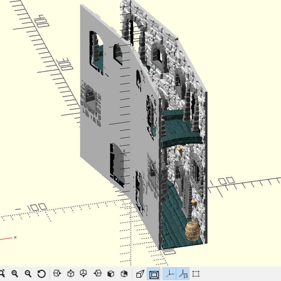 콘스탄틴은 3D 모델링 프로그램으로 전체 모습을 렌더링했다