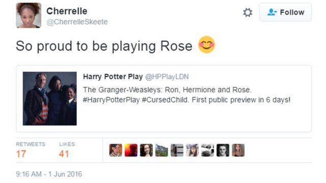 Cherrelle Skeete tweet