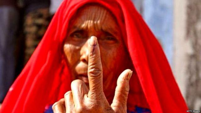 भारतीय महिला वोटर