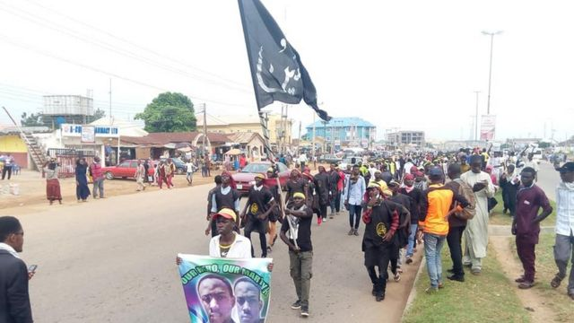 Shiites and soldiers dey fight around Nyanya area for Abuja