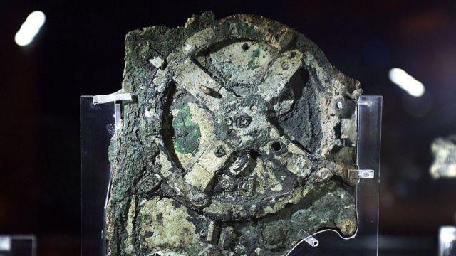 Антикитерский механизм находится в греческом музее