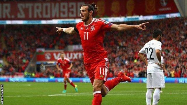 Mchezaji wa klabu ya Real Madrid Gareth Bale