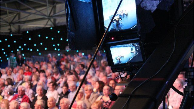 Watch all the action from the main stage with live English commentary