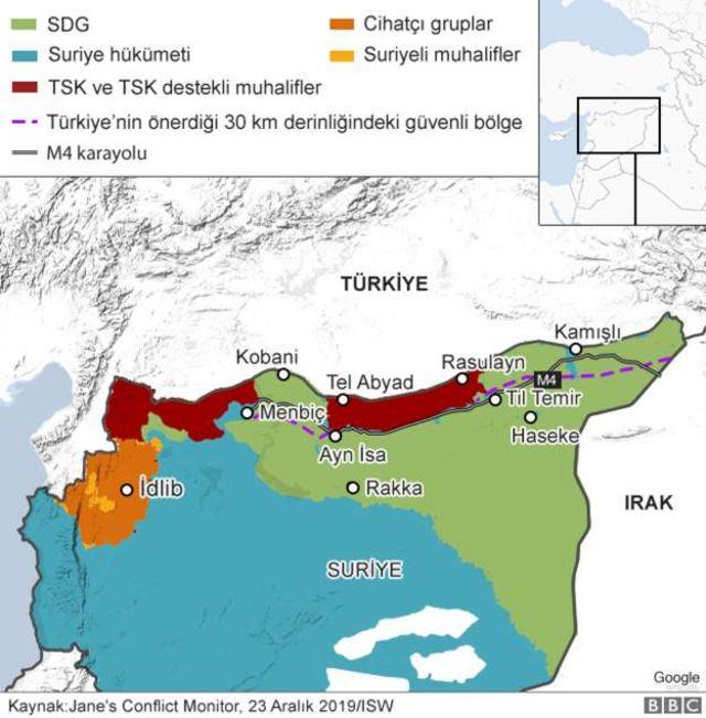 Suriye harita