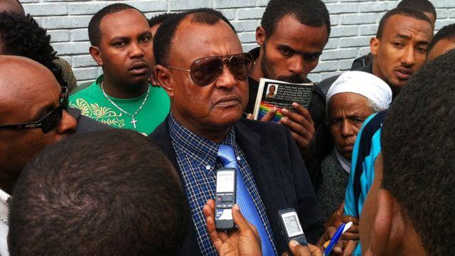 Abebe Guta, l'avocat de la défense de 24 personnes condamnées pour terrorisme, dont Eskinder Nega.