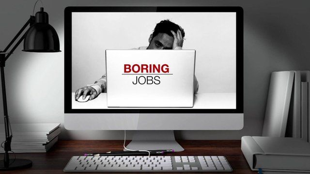 boring jobs graphic