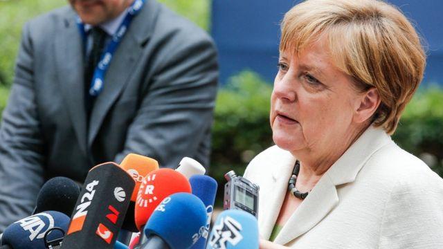 メルケル独首相は英国のEU離脱には方向転換はないと述べた