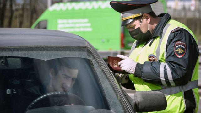 Полицейский в Москве