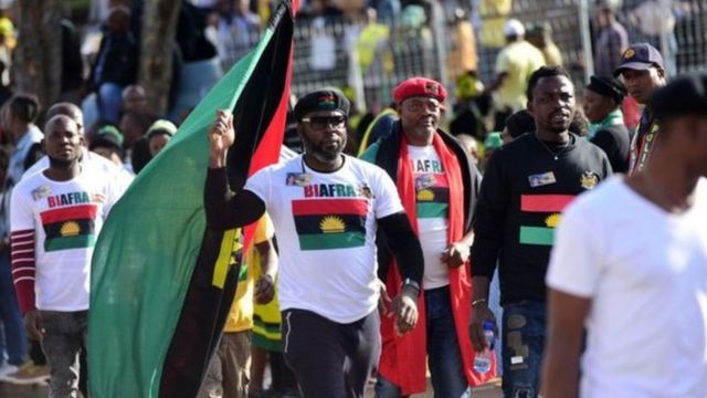 Ndị na-agba mbọ maka nnwereonwe Biafra